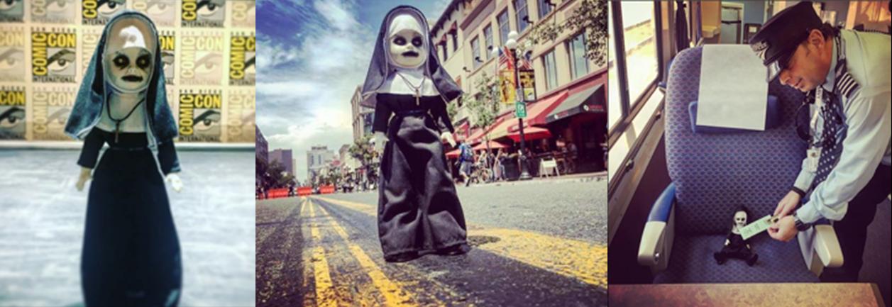 鬼修女-Q版-玩偶-一同前往參與 聖地牙哥動漫展 SDCC 與 恐怖之夜