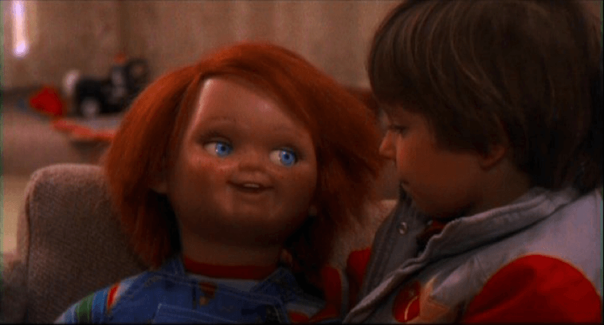 1988 年上映的《 靈異入侵 》, 鬼娃恰吉 的恐怖傳說即將開始 ──