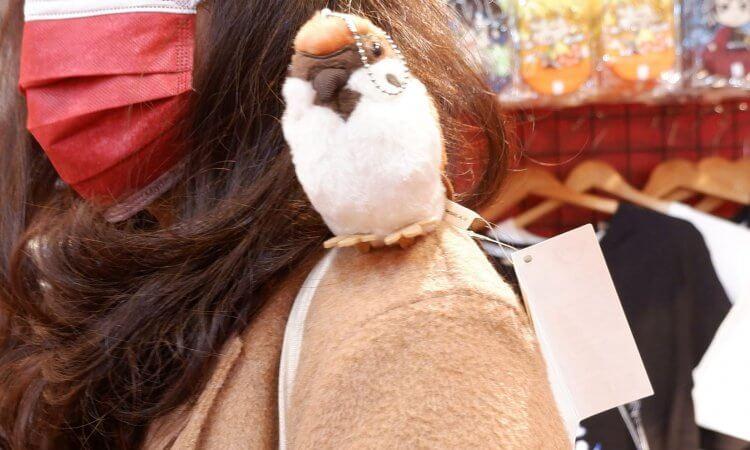 超可愛啾太郎絨毛吊飾。