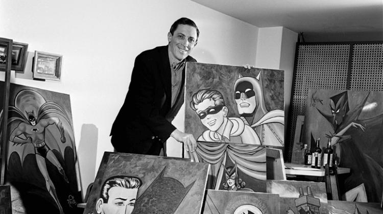 蝙蝠俠之父──鮑勃肯恩。