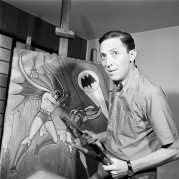 《蝙蝠俠》創作者之鮑勃肯恩。
