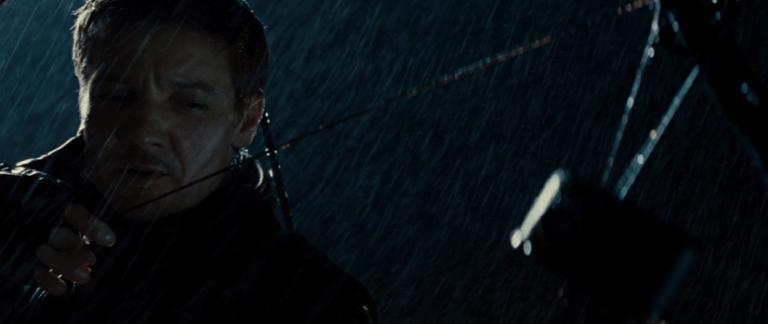 「鷹眼」在《雷神索爾》中的短暫露面,是他在《復仇者聯盟》系列電影的首度亮相。