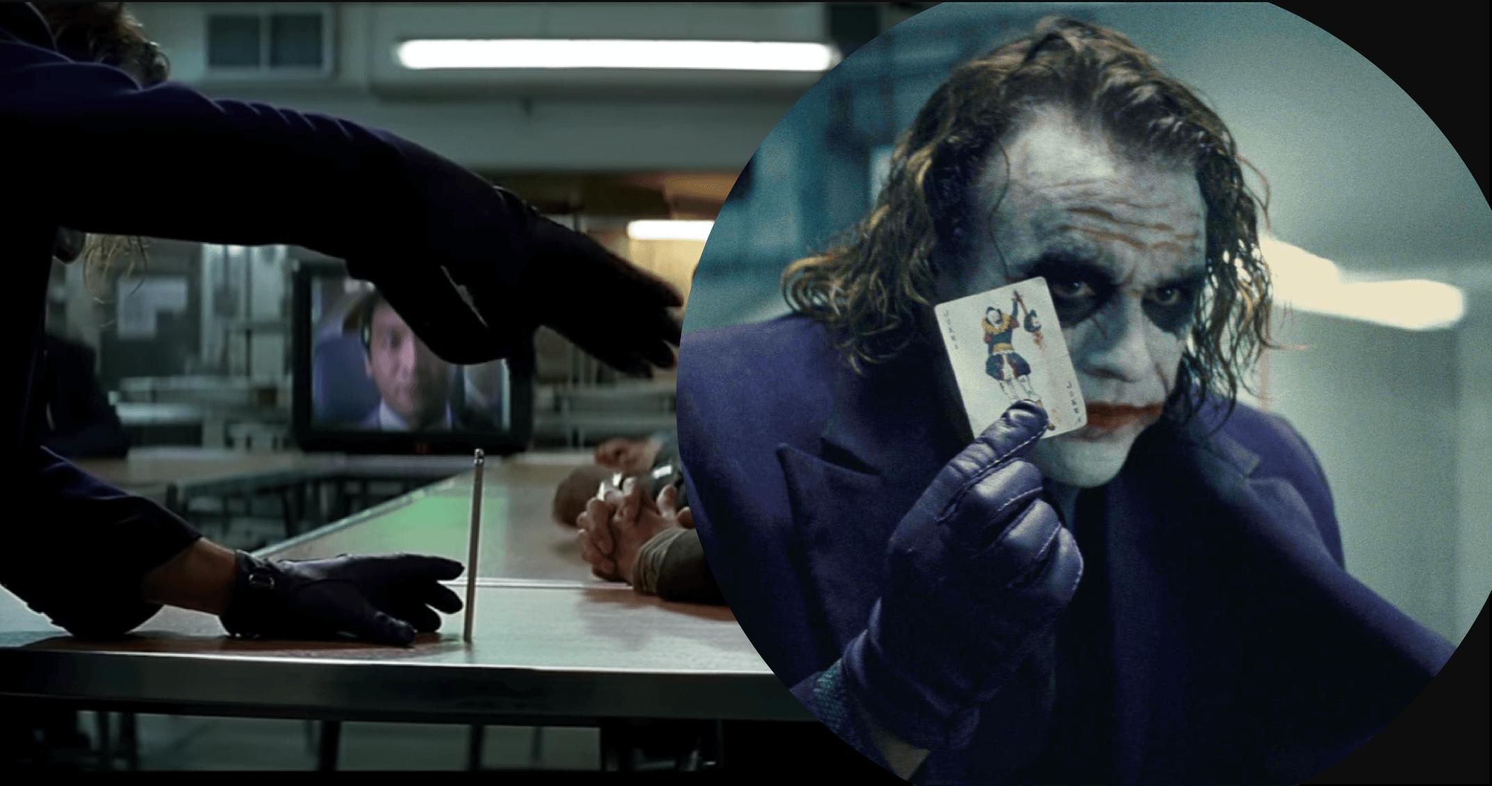 《黑暗騎士》「小丑把鉛筆變不見」經典橋段是怎麼拍的? 幕後拍攝秘辛曝光首圖