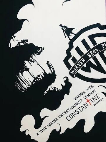 《康斯坦汀:驅魔神探》電影海報。
