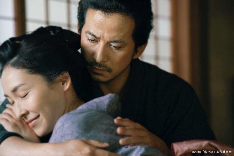電影《椿花散落》劇照。