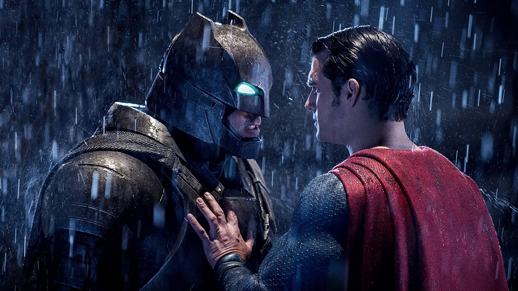 《蝙蝠俠對超人:正義曙光》電影劇照。