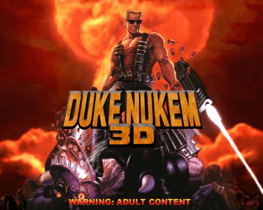 第一人稱 射擊遊戲 的 大前輩 : 毀滅公爵 Duke Nukem