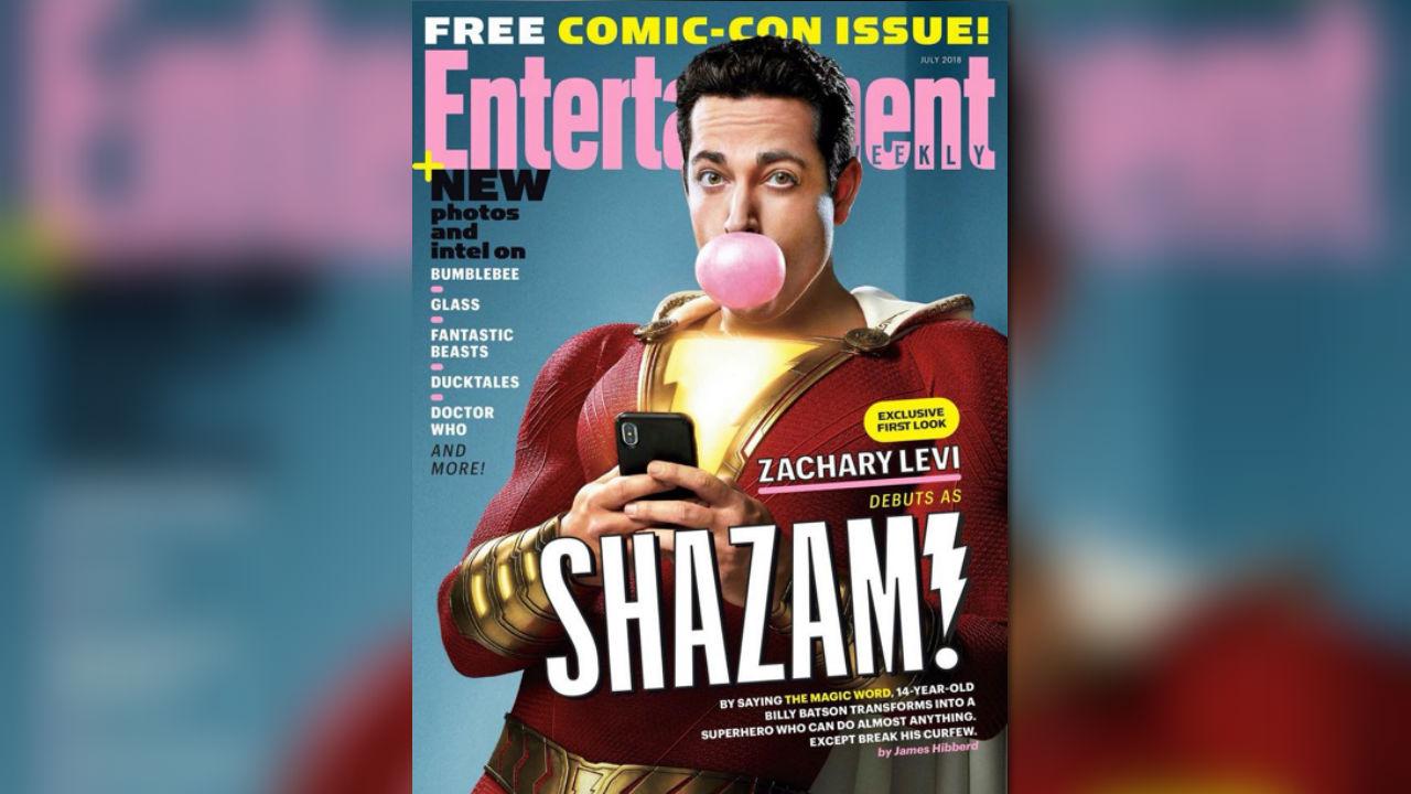 《沙贊!》新劇照滿滿彩蛋:超人&蝙蝠俠有望現身沙贊電影?