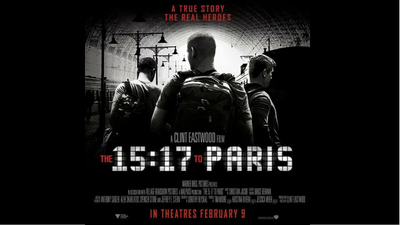 【影評】《15:17巴黎列車》:真實性大於娛樂的紀錄片