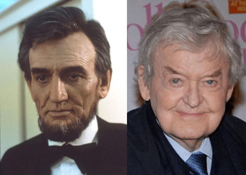 迪克史密斯設計的林肯造型(圖左)、與哈爾霍爾布魯克本人(圖右)。