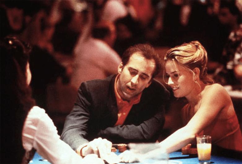 """《 遠離賭城 (""""Leaving Las Vegas"""")》讓 尼可拉斯凱吉 贏得 奧斯卡 金像獎 男主角 影帝 榮耀"""
