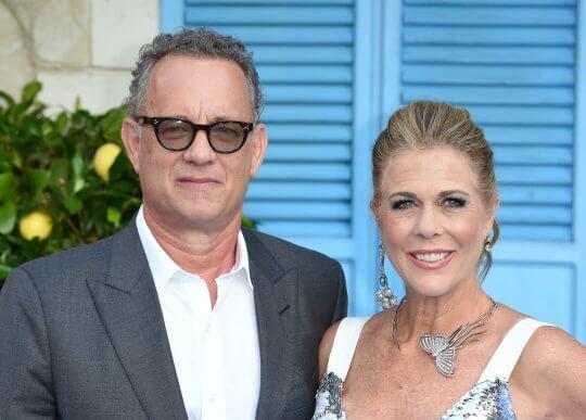 湯姆漢克斯(Tom Hanks) 與妻子