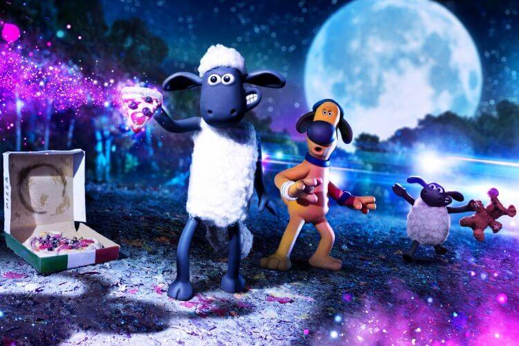 致敬《E.T.外星人》,阿德曼動畫在全新定格動畫電影《笑笑羊大電影:外星人來了》中有許多玩心與巧思。