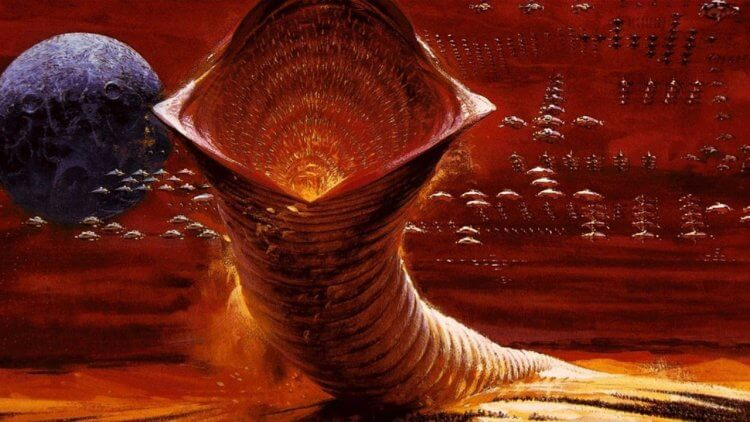 《沙丘》的關鍵生物「沙蟲」介紹!厄拉科斯的巨型物種,全面暸解牠的生態與相關文化——首圖