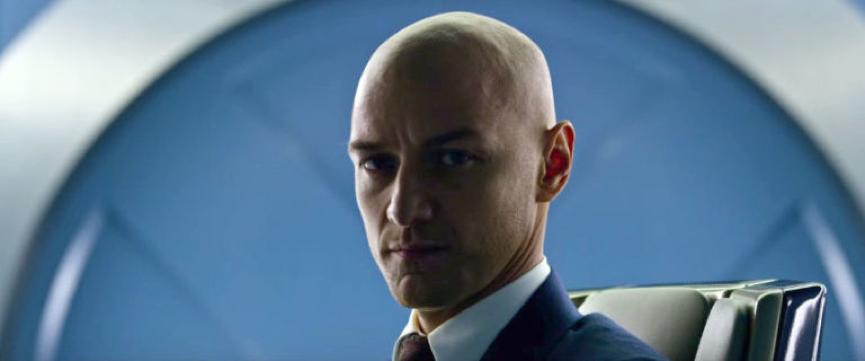 變種人 教授在《X戰警: 黑鳳凰》(還有往後的X戰警電影裡)會是光頭