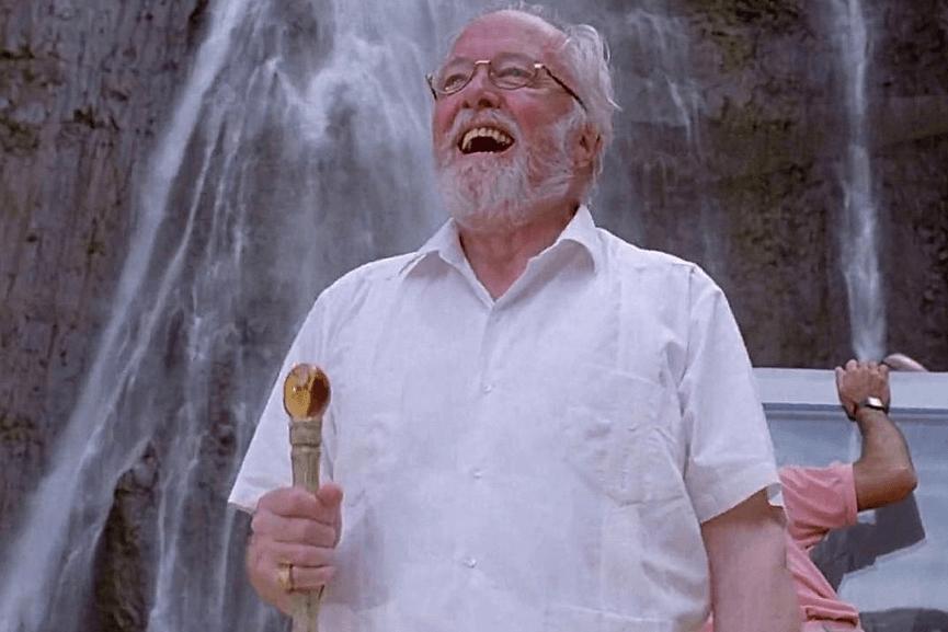 電影《 侏羅記公園 》中, 恐龍 公園的創辦者 約翰漢蒙 (John Hammond) 。
