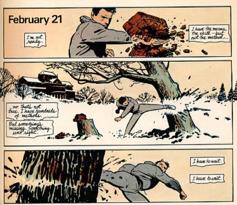 漫畫《蝙蝠俠:元年》補足布魯斯韋恩成為蝙蝠俠前的經歷。