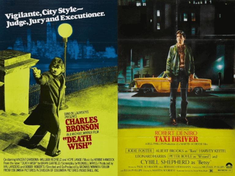 《猛龍怪客》與《計程車司機》中都有和《蝙蝠俠:元年》布魯斯一樣私下行俠仗義的「義警」存在。