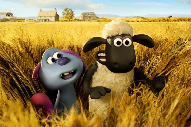 阿德曼動畫全新定格動畫電影《笑笑羊大電影:外星人來了》致敬經典科幻電影《E.T. 外星人》。