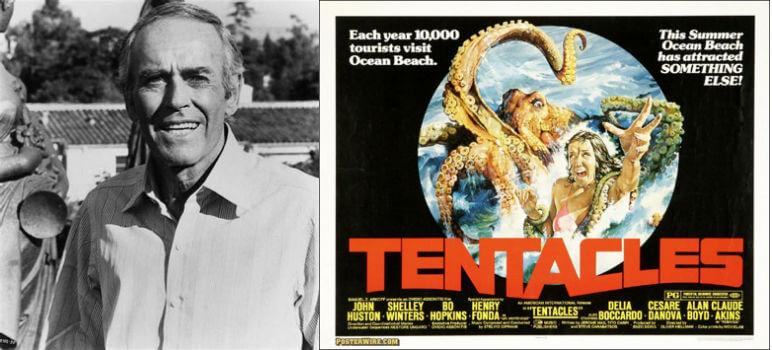 奧利佛赫曼 名義執導的恐怖片《 大章魚 》。