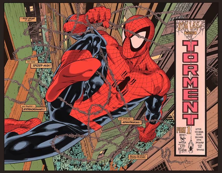 陶德麥法蘭 所創作的《 蜘蛛人 》 漫畫 。