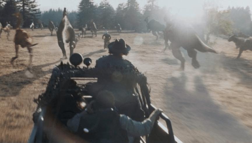 《 侏羅紀公園 : 失落的世界 》: 獵人 正在追捕 恐龍 ,把它們帶回家裡