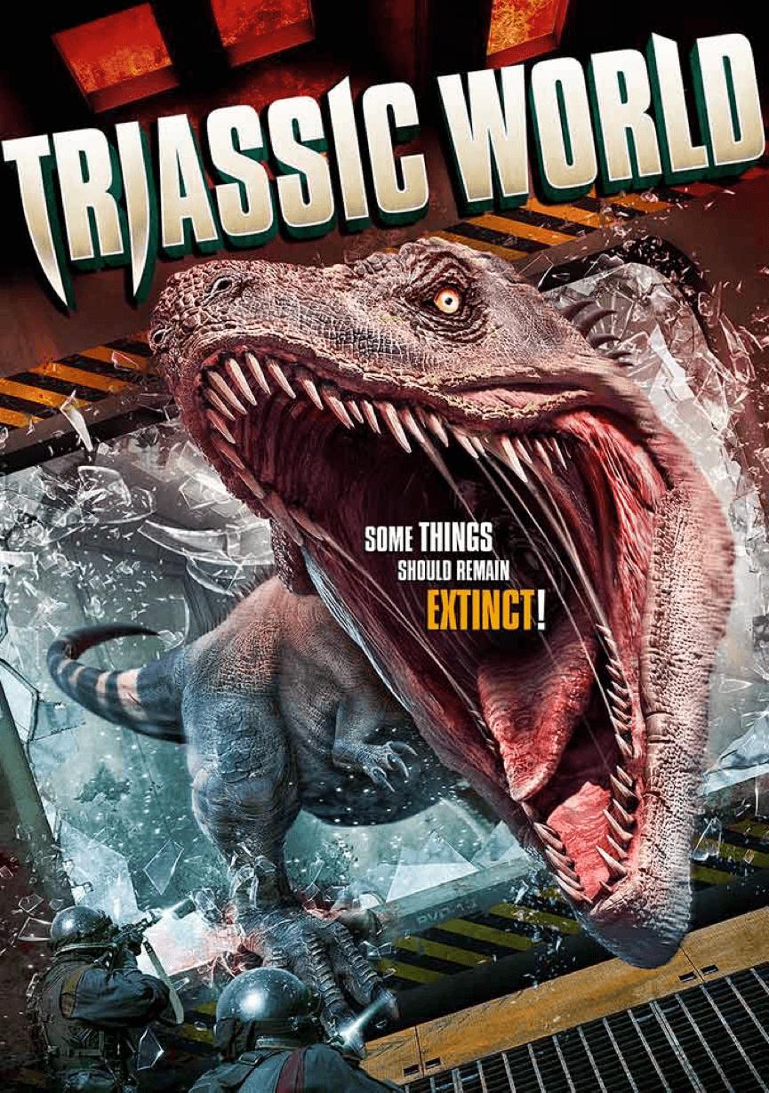 《 侏羅紀世界 : 殞落國度 》上映前的 山寨 電影 :《 三疊紀世界 》