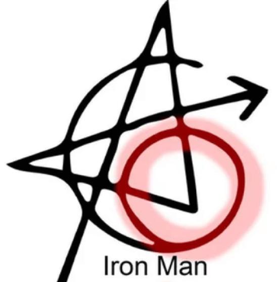 復仇者刺青-鋼鐵人