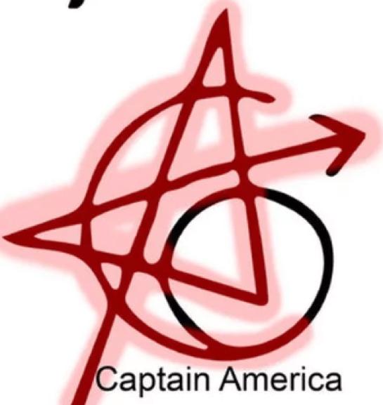 復仇者刺青-美國隊長