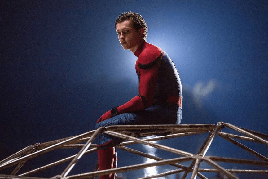 新生代 超級英雄 由年輕演員 湯姆霍蘭德 所飾演的 蜘蛛人 。