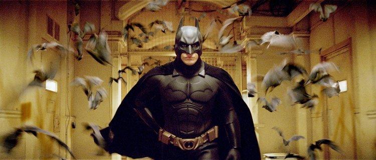 諾蘭導演電影《蝙蝠俠:開戰時刻》劇照。