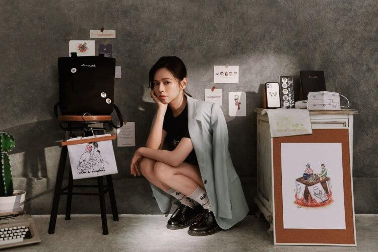 夏于喬獲邀參與台北電影節「看電影約嗎」聯名周邊設計