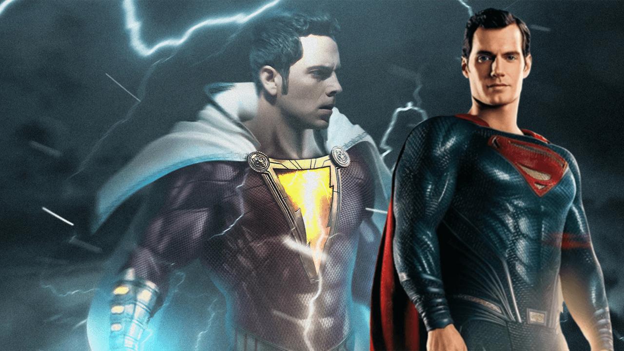 據傳「超人」亨利卡維爾為DCEU新片《沙贊!》拍攝了客串片段,但影迷們可能無緣看到首圖