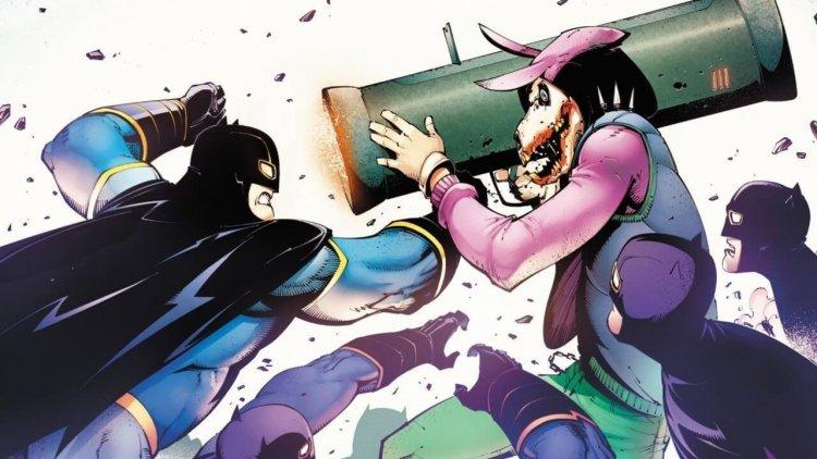 反體制的象徵!中國小丑「草泥馬」介紹——她是中國蝙蝠俠的妹妹,也是政府的敵人首圖