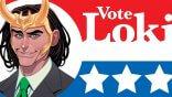 洛基也參戰!繼「美國隊長」、「雷克斯路瑟」後,「惡作劇之神」洛基也投入美國總統大選