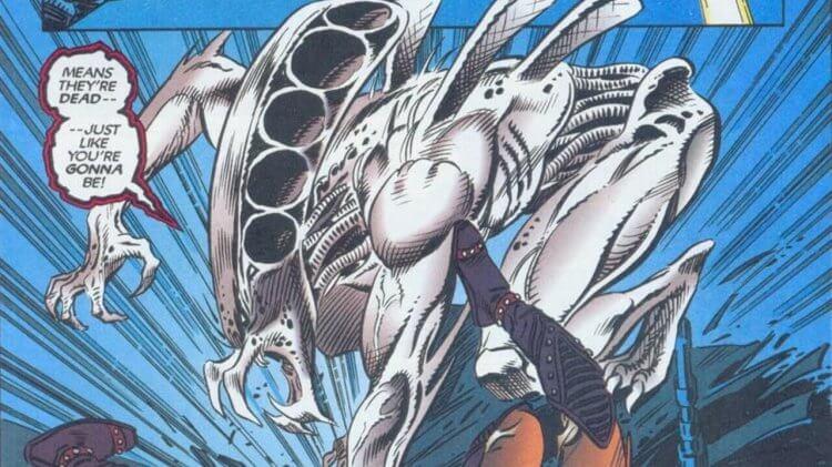 你該認識邪惡的三位一體!融合異形、人類、終極戰士基因的「白色混種」怎麼誕生的?首圖