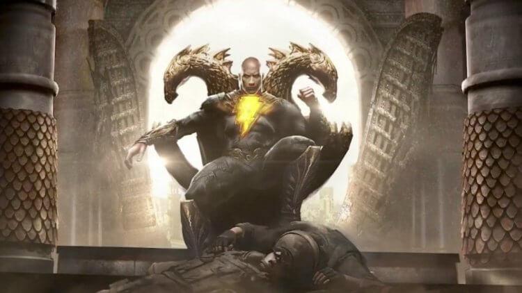 一人單挑所有英雄?巨石強森主演的《黑亞當》漫畫設定、正義協會介紹首圖