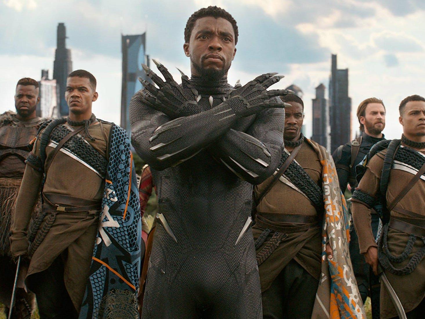 復仇者聯盟 3 無限之戰 電影最後, 黑豹 帝查拉 (T'Challa) 失去了蹤影。