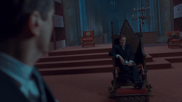 電影《王者之聲:宣戰時刻》劇照。