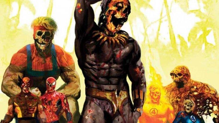 超級英雄變成活死人的話?《漫威活死人》故事介紹(2):黑豹成活死人,魔比斯惡意擴散病毒首圖