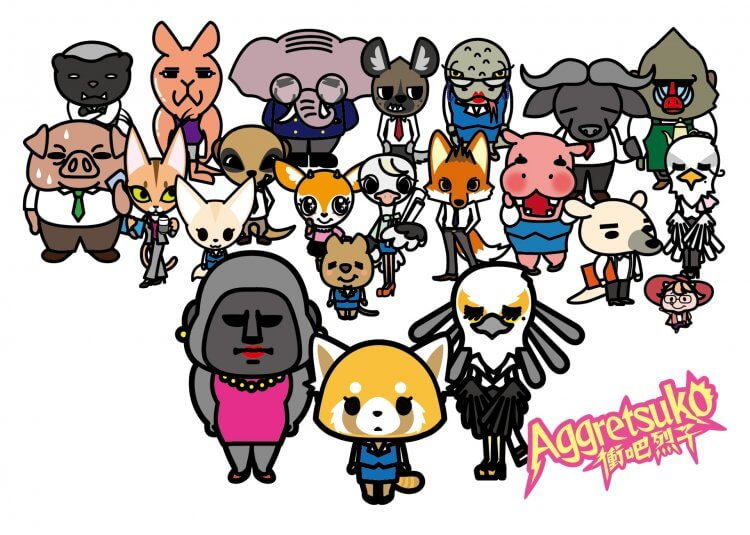 由三麗鷗可愛角色延伸的動畫影集《衝吧烈子》。
