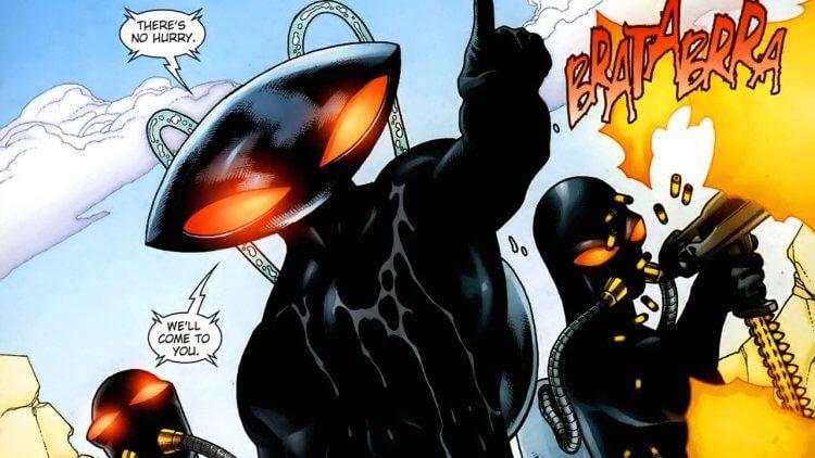 「黑蝠鱝」與「水行俠」不共戴天之仇從何而來?DC 漫畫最悲慘一章:「殺害水行俠之子」首圖