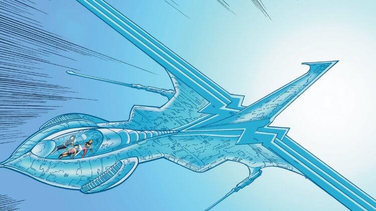 《神力女超人 1984》史提夫駕駛的飛機是?DC 漫畫史當中,神力女超人的「隱形飛機」介紹首圖