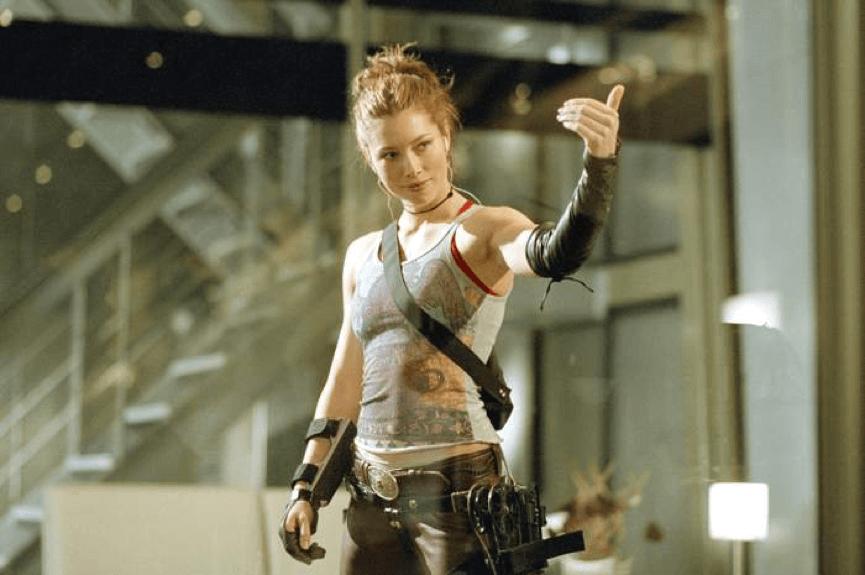 《 刀鋒戰士3 》阿碧蓋兒 (潔西卡貝兒 飾) 。
