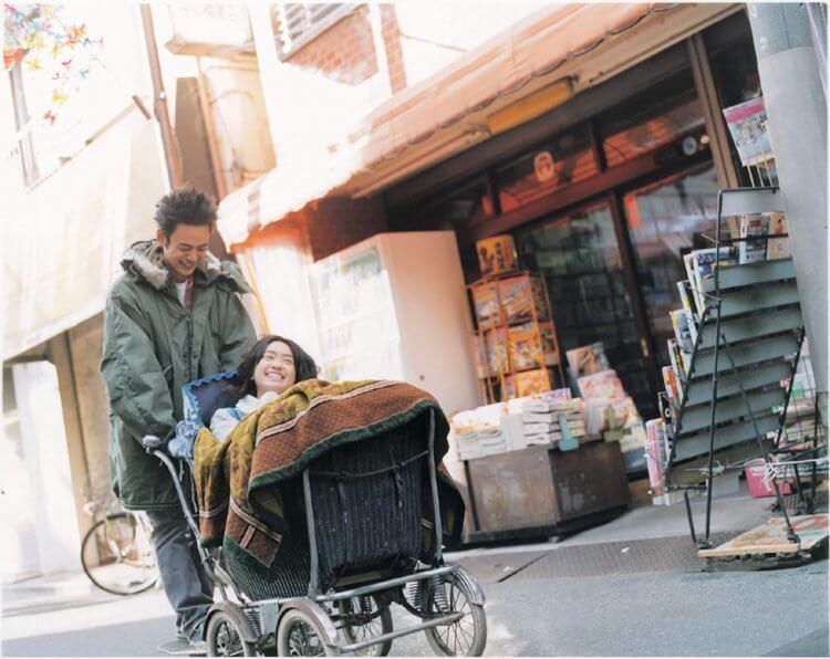 池脇千鶴與妻夫木聰主演的《喬瑟與虎與魚群》真人版電影。