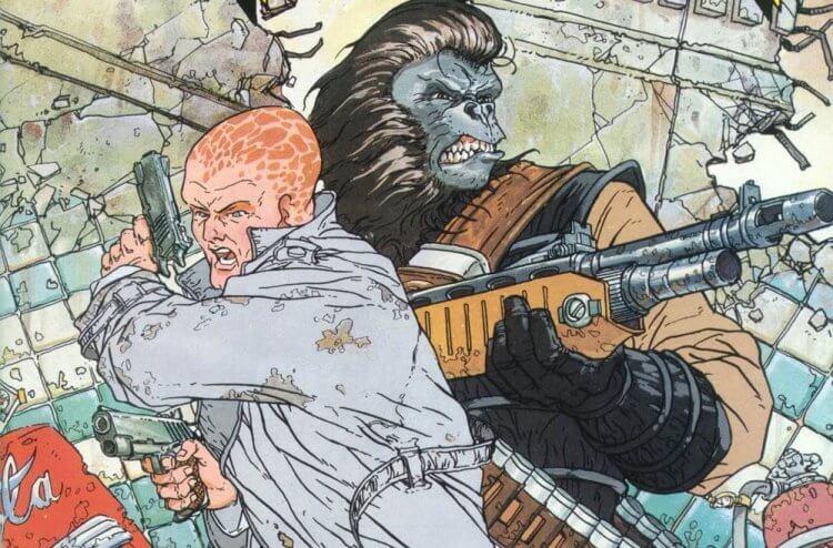 《Ape Nation》漫畫。