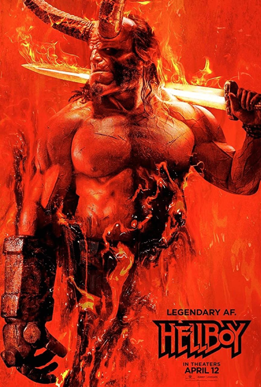 《 地獄怪客:血后的崛起 》 電影海報 。