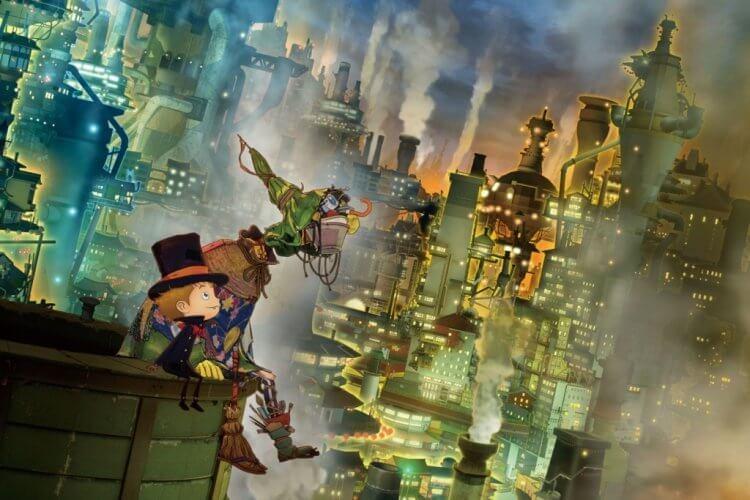 繪本改編動畫電影《煙囪小鎮的普佩》劇照。