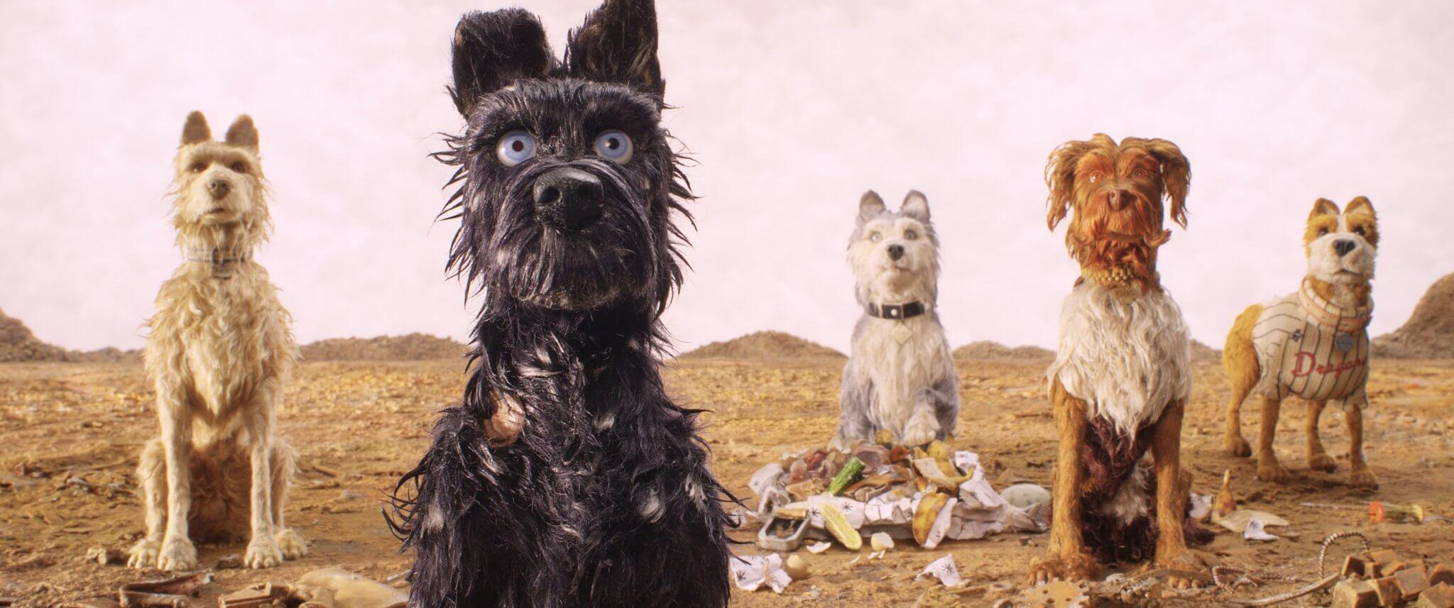 勇奪柏林影展最佳導演獎 魏斯安德森 停格動畫電影 作品:《 犬之島 》(Isle of Dogs)。