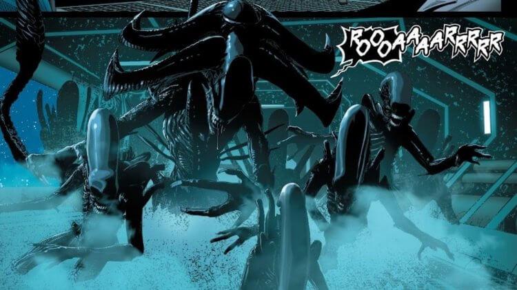 漫威的《異形》系列首個原創異形種類——異形們的領導者「阿爾法」設定介紹!首圖